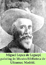 the miguel lopez de legaspi expedition Bokasyong agustino,  camus was part of the spanish expedition led by miguel lopez de legaspi to reclaim the islands after explorer ferdinand magellan's first.