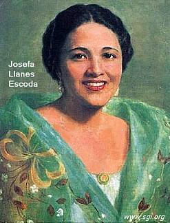 JOSEFA LLANES ESCODA 1898 - 1945